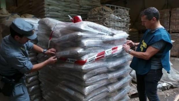 Albanella: sequestrate 15 tonnellate di pellet contaminato
