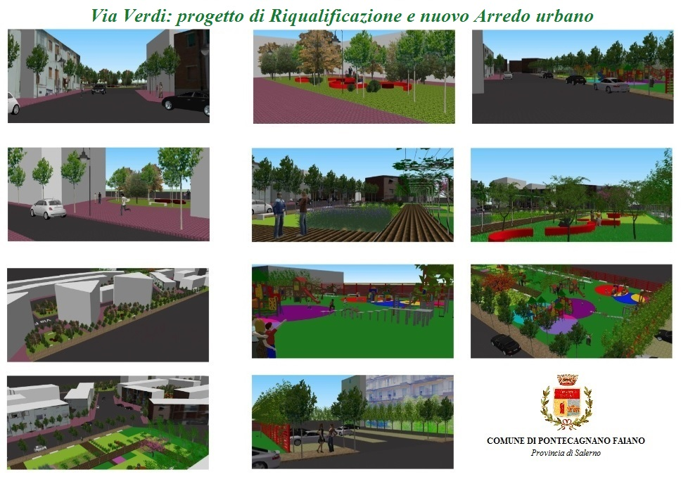 Progetto Di Arredo Urbano.Progetto Riqualificazione E Arredo Urbano Via Verdi Tvoggi