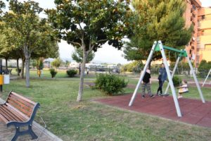 Parco giochi via Cavalleggeri