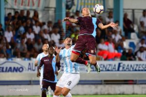 Vuletich in Virtus Entella - Salernitana