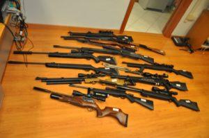 Armi sequestrate dalla Polizia 2